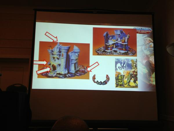 Power Con Reveal - Masters of the Universe Castle Grayskull Playset