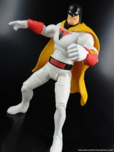 "Jazwares Space Ghost Hanna Barbera 6"" Action Figure Articulation"