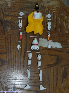 "Jazwares Space Ghost Hanna Barbera 6"" Action Figure Exploded View"
