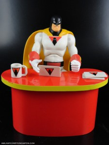 "Jazwares Space Ghost Hanna Barbera 6"" Action Figure with with Coast to Coast Toycom Accessories"