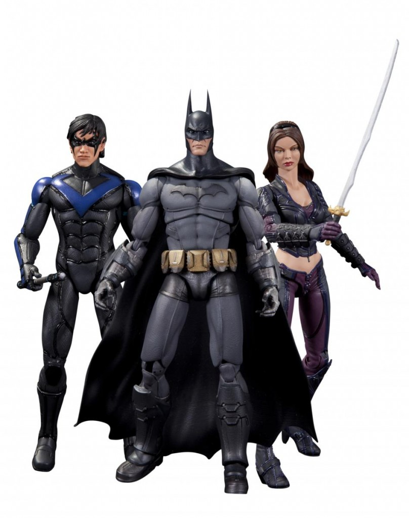 DC Collectibles Batman Arkham City Series 4 Nightwing Talia Al Ghul