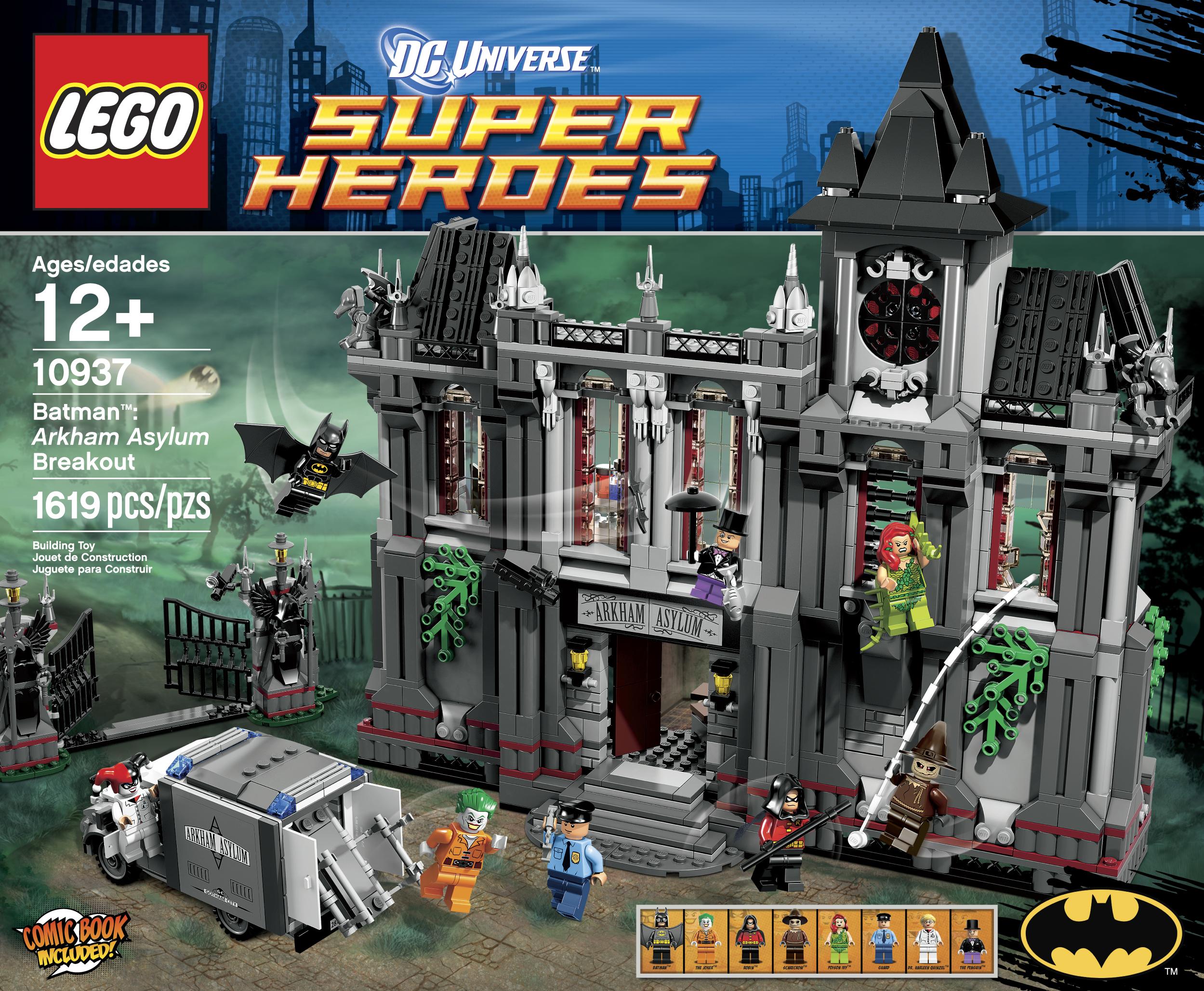 All Lego Toys : News lego batman arkham asylum breakout set announced