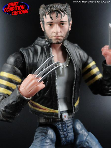 "Custom Logan/Wolverine (X-Men Movie Style) 6"" Marvel Legends Action Figure Hugh Jackman Origins"