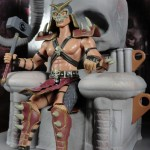 "Jazwares 3 3/34"" Mortal Kombat Shao Kahn's Arena Playset Video Game"
