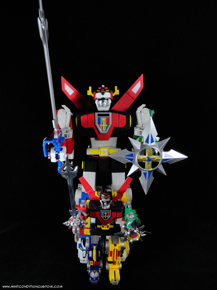 Mattel 23 quot  Voltron Action Figure Scale with Trendmasters VoltronVoltron Yellow Lion