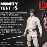 Welcome to the DASH Hot Toys Luke Skywalker Giveaway (it's not a trap)