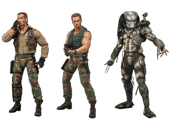 "NECA Predators 7"" Action Figures Series 8 Classic Predator Dutch"