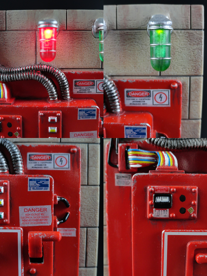 "Custom Ghostbusters 6"" Scale Mattel Containment Unit Lights Sounds"