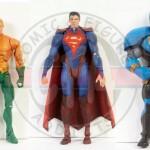Mattel DC Unlimited Wave 3 - New 52 Aquaman, New 52 Darkseid, Injustice Superman