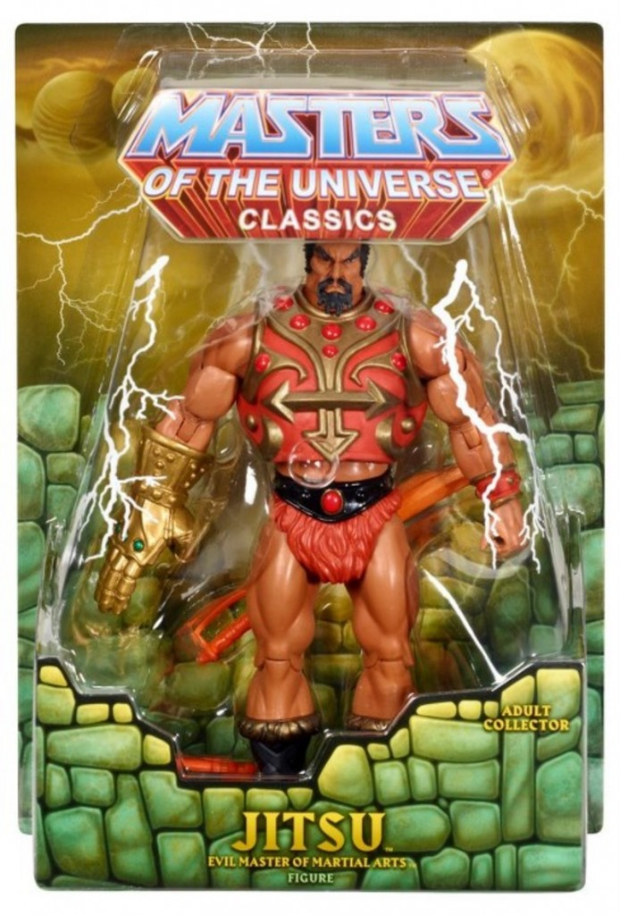 Masters of the Universe Classics Mattel MOTUC Jistu In Package Carded Front View