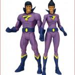 Mattel DC Universe Classics DCUC SDCC San Diego Comic-Con Wonder Twins Set
