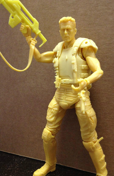 "NECA Hicks Test Shot Aliens Series 1 7"" Action Figure"