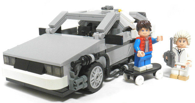 LEGO Back to the Future Set