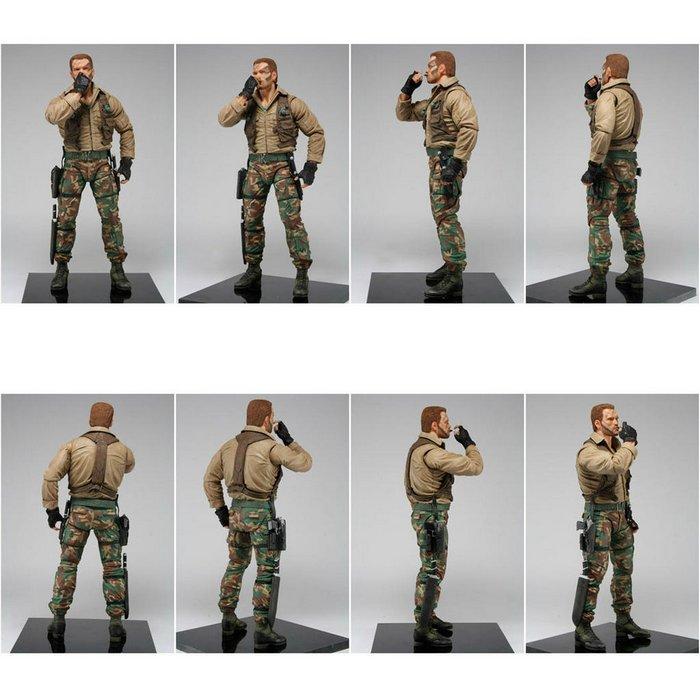 "NECA Jungle Extraction Major Dutch Schaefer Predators Series 8 7"" Action Figure Turn Around"