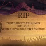 News – Thundercats Officially Cancelled