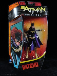 Batman Unlimited New 52 Batgirl action figure from Mattel in package