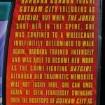 Batman Unlimited New 52 Batgirl action figure from Mattel bio