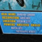 Batman Unlimited New 52 Batgirl action figure from Mattel stats