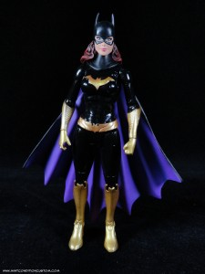 Batman Unlimited New 52 Batgirl action figure sculpt