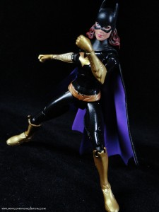 Batman Unlimited New 52 Batgirl action figure articulation