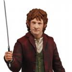 NECA 1/4 Scale Bilbo Baggins Hobbit Action Figure Peter Jackson Martin Freeman