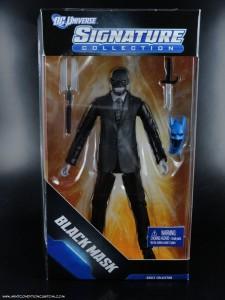 """DC Signature Collection Club Infinite Earths Black Mask 6"""" Action Figure Mattel Batman"""
