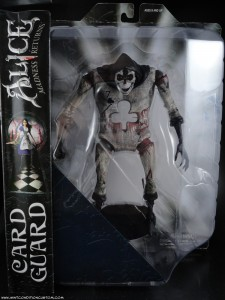 DST Alice: Madness Returns Card Guard Action Figure In Package
