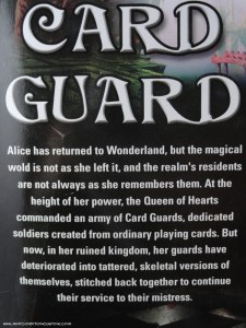 DST Alice: Madness Returns Card Guard Action Figure Bio