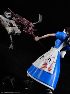 DST Alice: Madness Returns Card Guard Action Figure with Alice