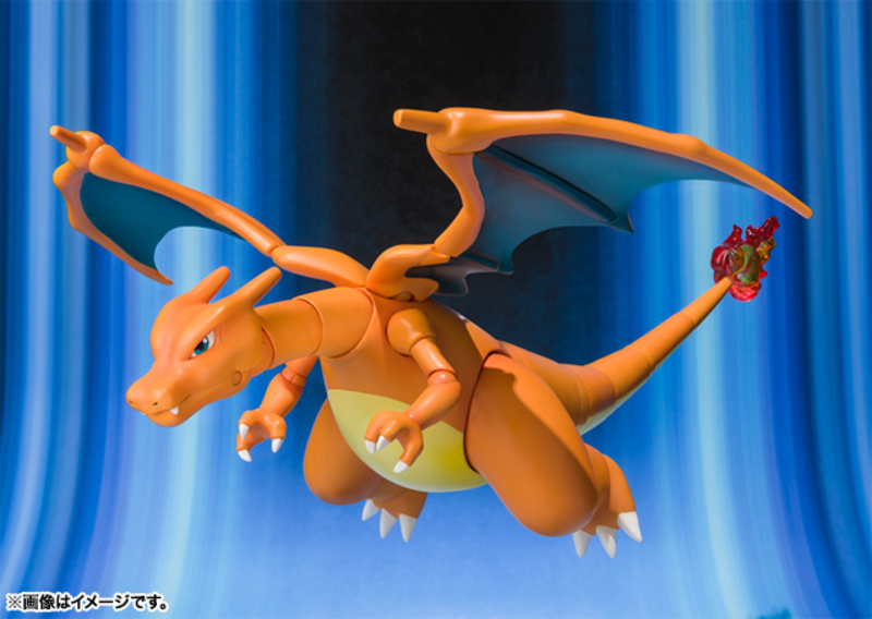 Bandai Bluefin Tamashii Nations Pokemon D-Arts Charizard Action Figure