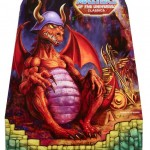 Masters of the Universe Classics MOTUC Granamyr Dragon In Package Front Rudy Obrero Painting