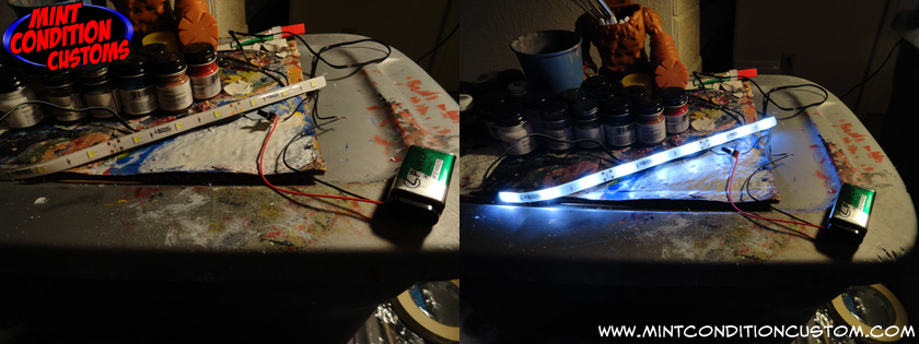 Custom Mortal Kombat Light-Up Fireball Prop Replica Work in Progress