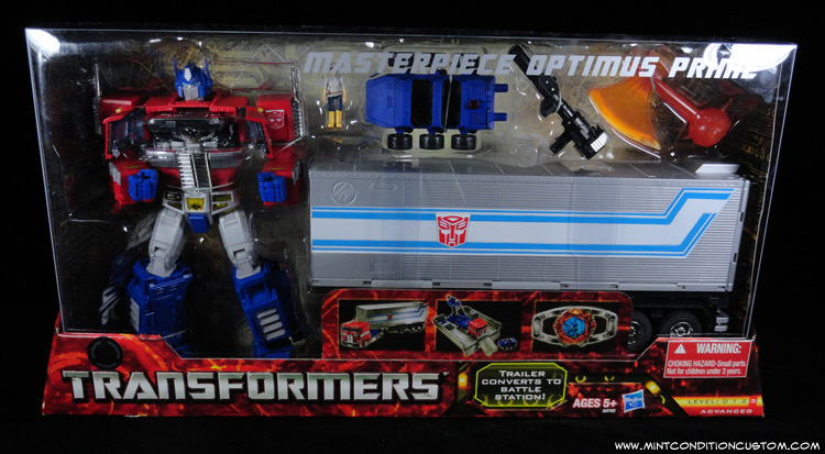 Transformers Masterpiece Optimus Prime In Package