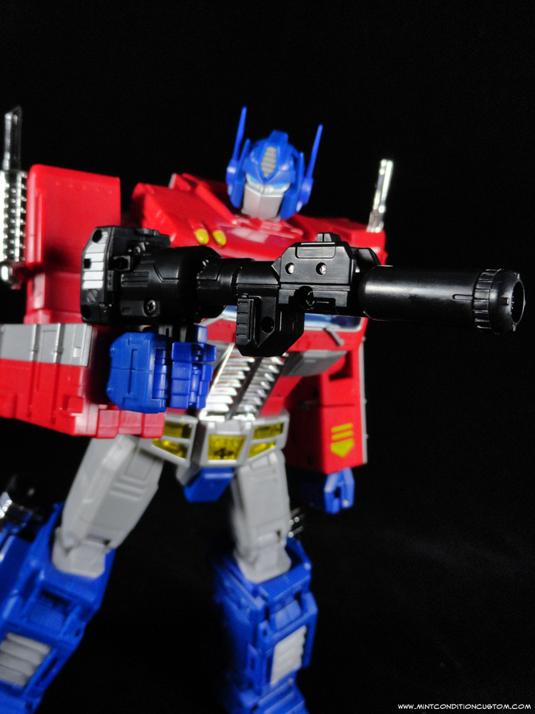 Transformers Masterpiece Optimus Prime Ion Cannon