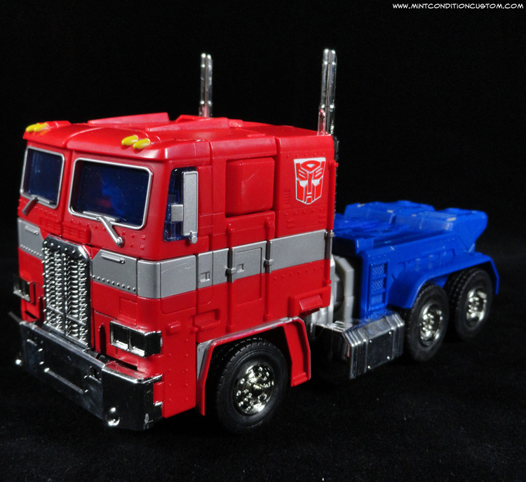 Transformers Masterpiece Optimus Prime Alt Truck Mode
