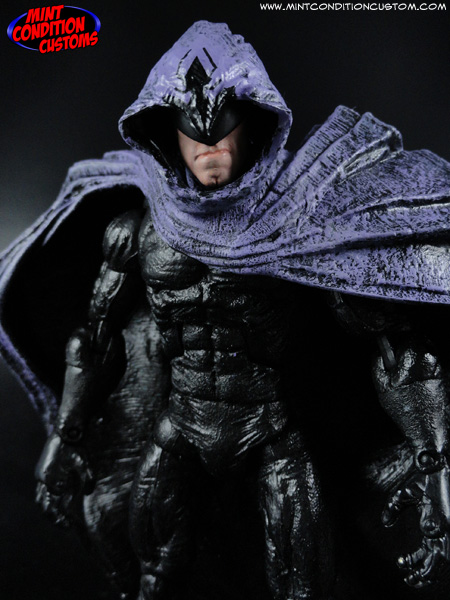 "Custom Shroud 6"" Marvel Legends Action Figure"
