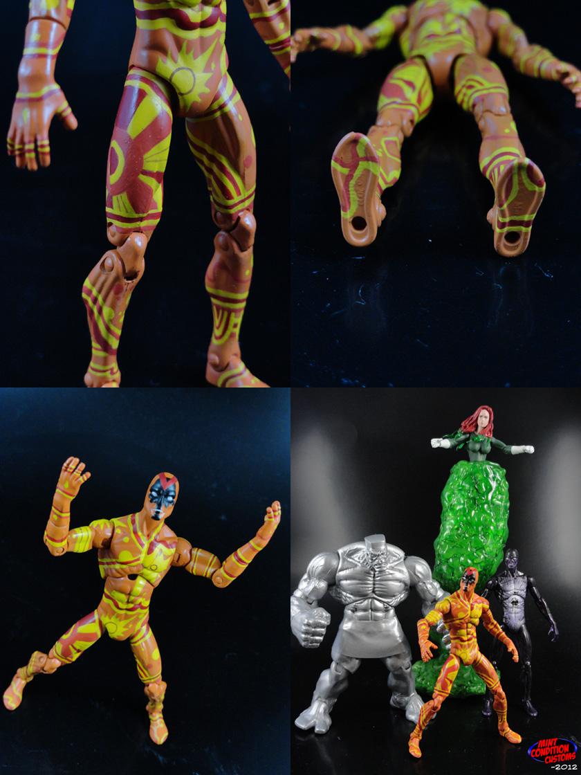 """Custom U-Foes Vector 3 3/4"""" Marvel Universe Action Figure"""