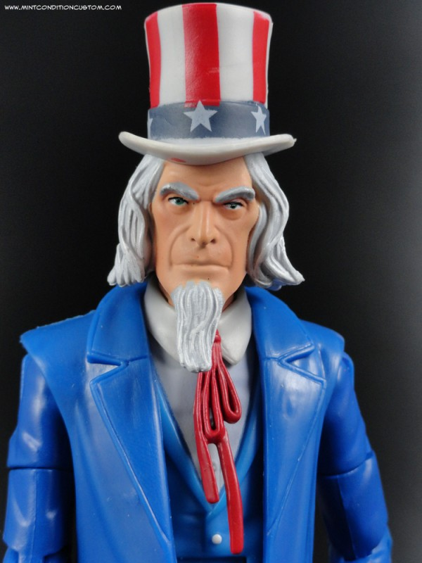 Mattel DC Universe Signature Collection Uncle Sam with Doll Man Action Figure