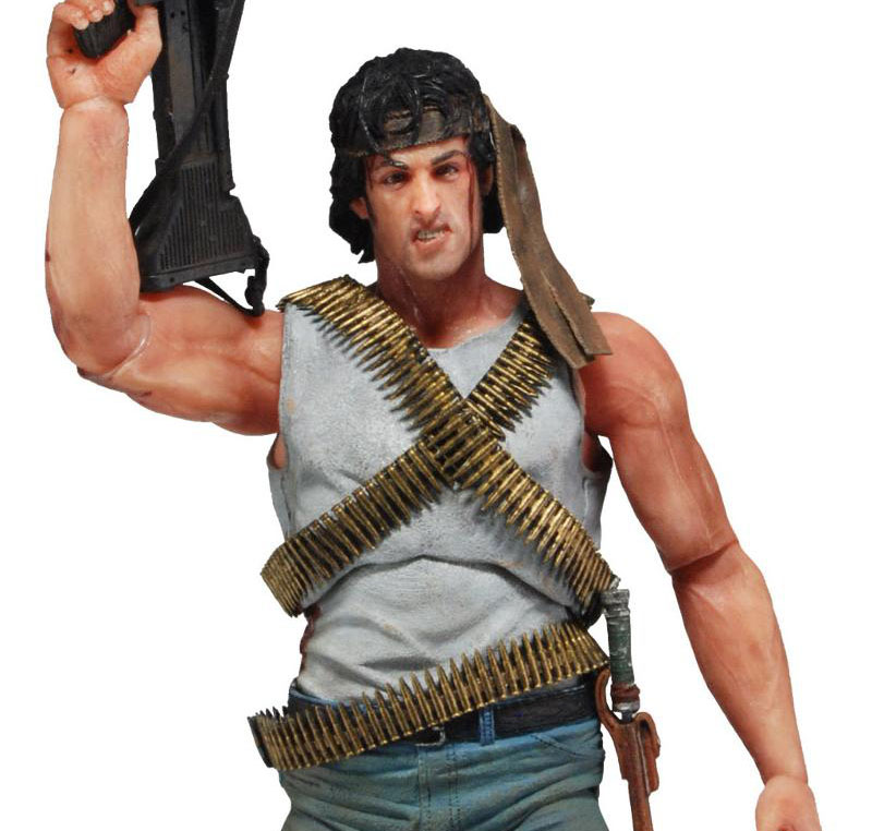 NECA Rambo First Blood Action Figure Revealed