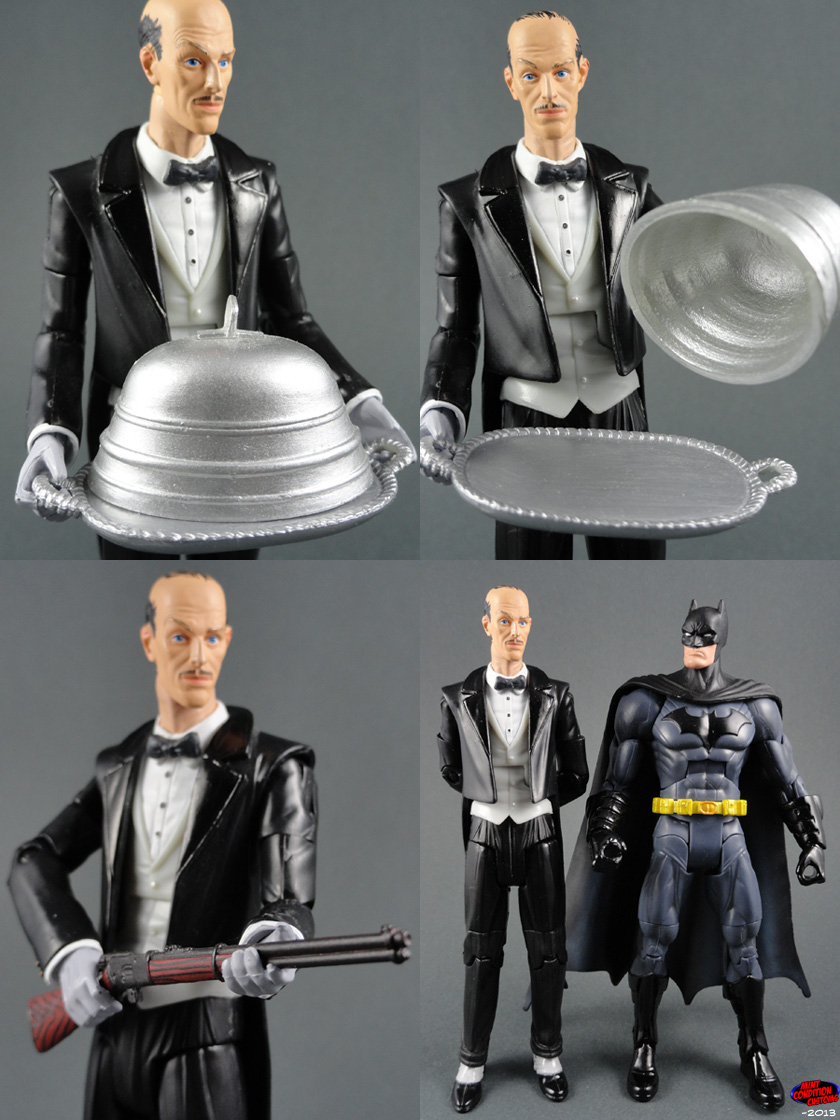 "Custom Alfred Pennyworth 6"" DC Universe Action Figure"