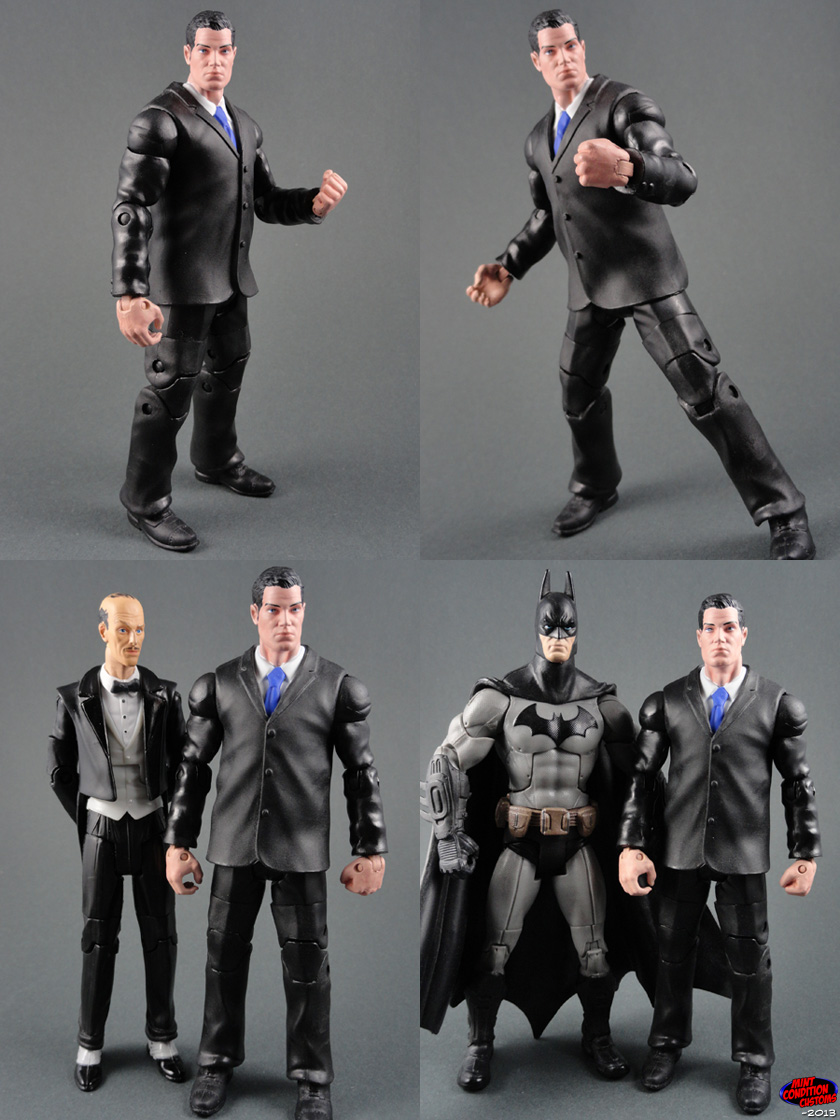 "Custom Bruce Wayne (Arkham City Style) 6"" DC Universe Action Figure"