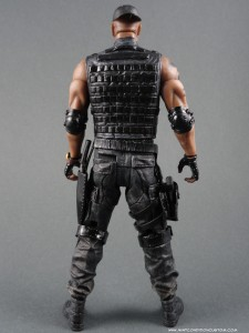 Expendables 2 Hale Caesar Action Figure Diamond Select Toys