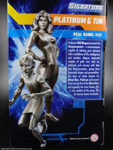 DC Universe Signature Collection Platinum and Tin Action Figures Mattel