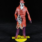 Watchmen Club Black Freighter Rorschach Action Figure Mattel