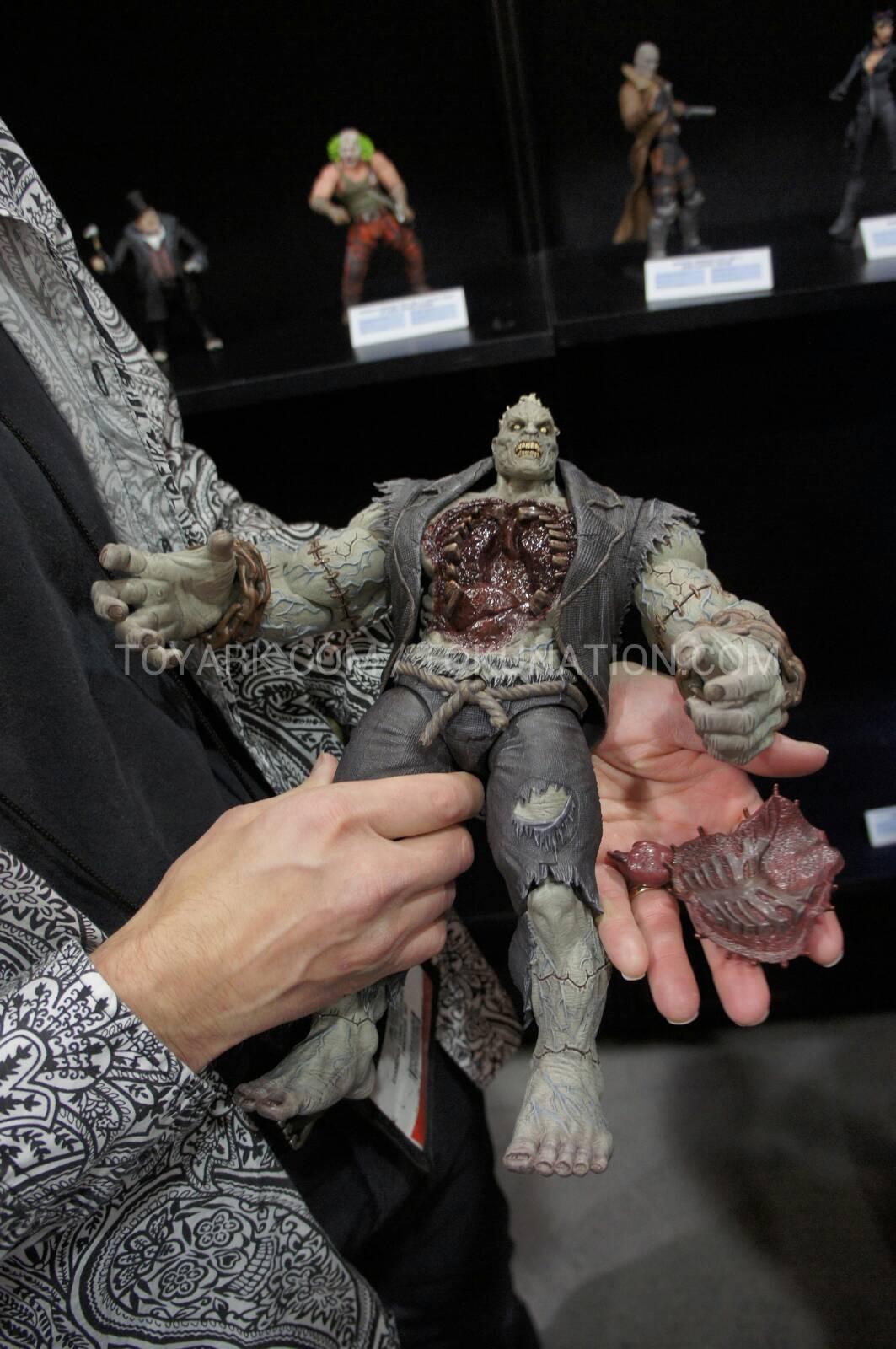 DC Collectibles Arkham City Solomon Grundy Deluxe Action Figure Toy Fair 2013