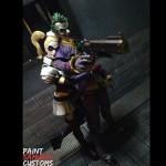 ACBA of the Day – Play Arts Joker & Harley Quinn by Paint Samurai Customs