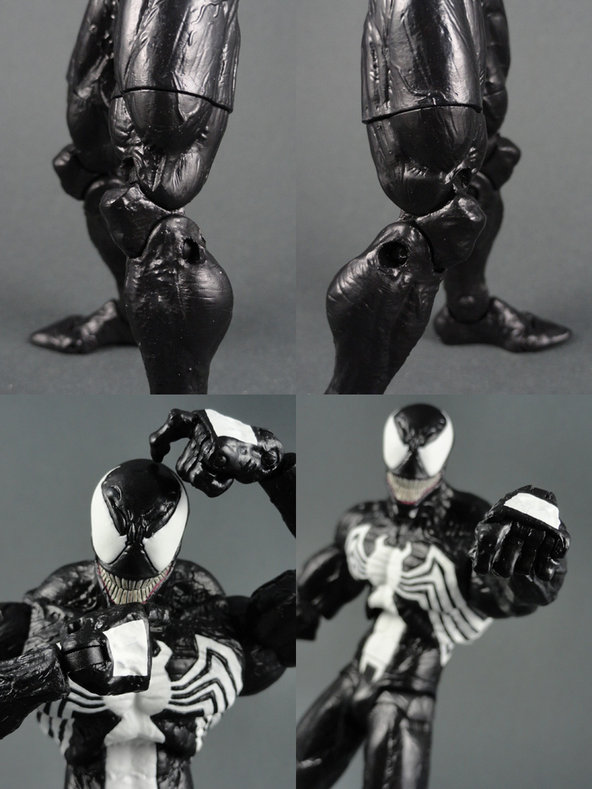 Custom Eddie Brock Venom (Super Posable) w/ Multiple Attachments Marvel Legends/Select Action Figure
