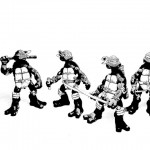 ACBA of the Day – TMNT Black and White by Katar Hol