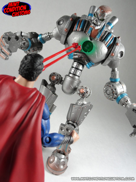 New Custom Action Figure Man of Steel Movie Masters Repaint with New ...
