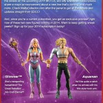 "2013 SDCC – MOTUC Glimmer and DCIE ""Hook Hand"" Aquaman Confirmed!"